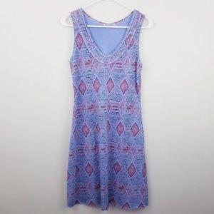 Fresh Produce | Purple Ikat Print Sleeveless Dress